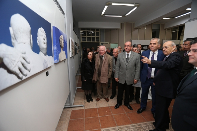 Heykel Fotoğrafları Sergisi açıldı