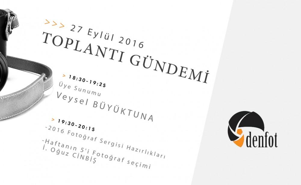 Denfot 27 Eylül 2016 Haftalık Programı