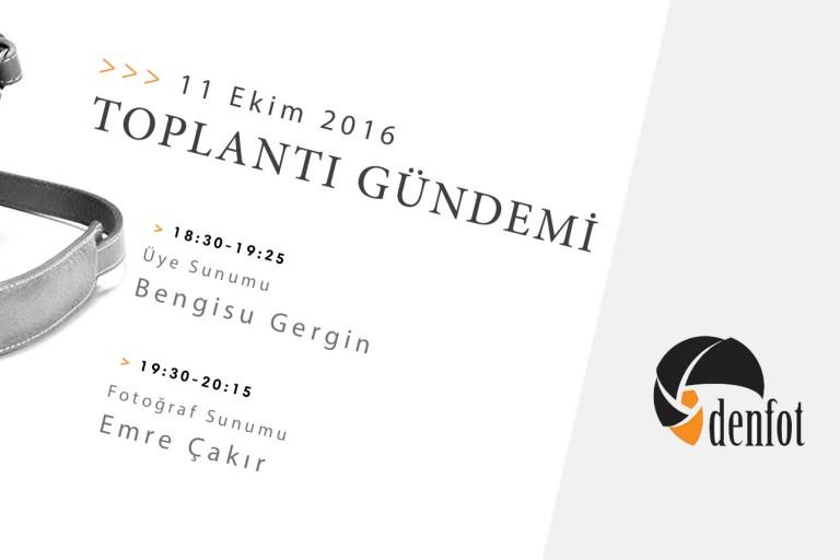 Denfot 11 Ekim 2016 Haftalık Programı