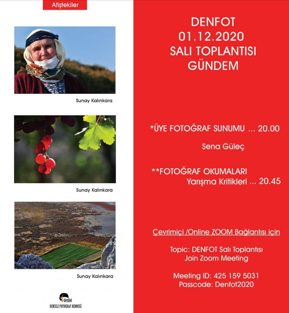 01.12.2020 Sunum Programı