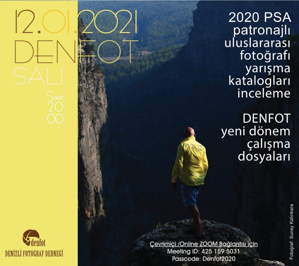 12.01.2021 Sunum Programı